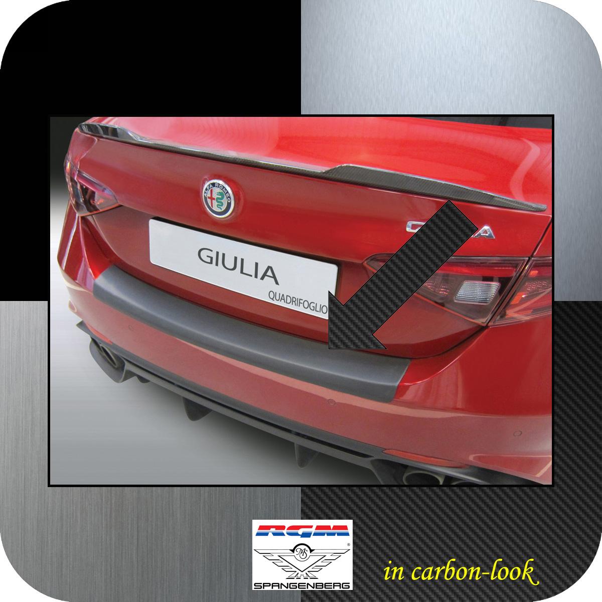 Ladekantenschutz Carbon-Look Alfa Giulia Limo 952 nur Quadrifoglio 2016- 3509677