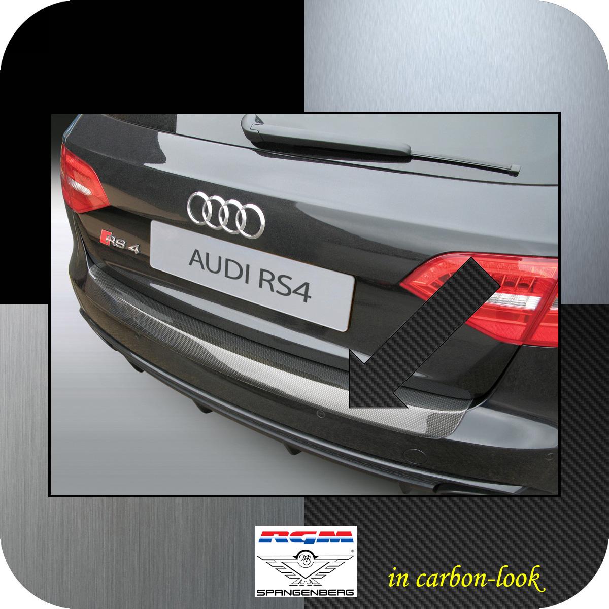 Ladekantenschutz Carbon-Look Audi A4 Avant B8 nur RS4 Quattro 2012-16 3509699