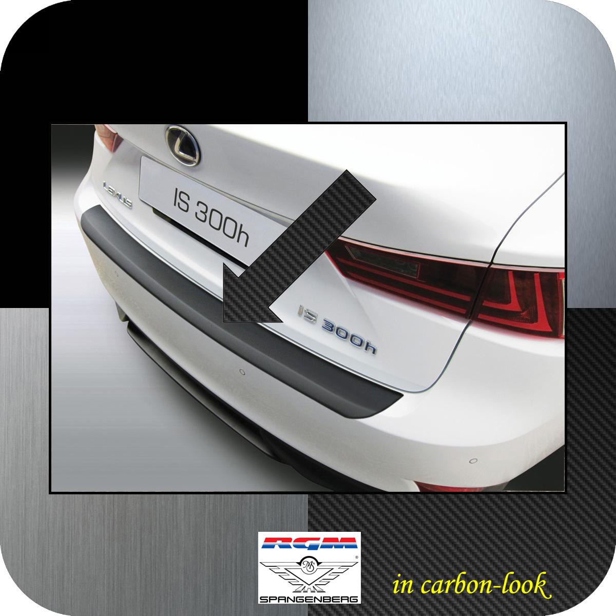 Ladekantenschutz Carbon-Look Lexus IS III Limousine Baujahre 2013-2016 3509729