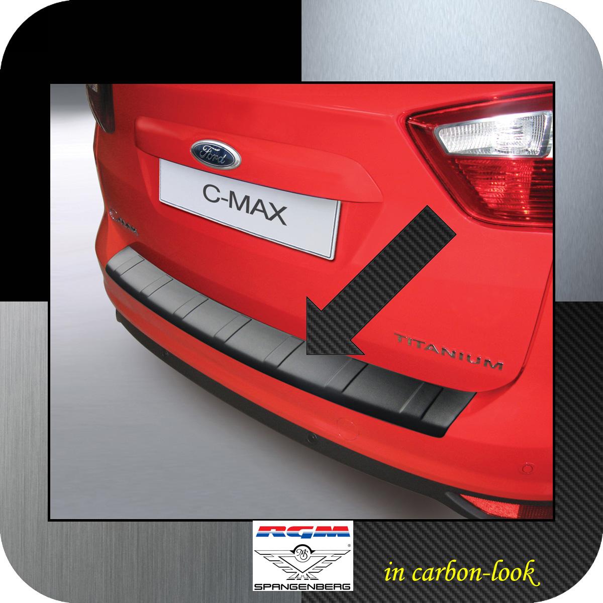 Ladekantenschutz Carbon-Look Ford C-MAX II vor facelift 2010-2015 3509773