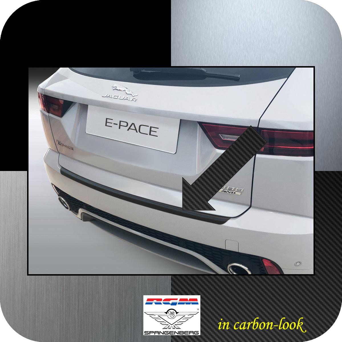 Ladekantenschutz Carbon-Look Jaguar E-Pace X540 SUV ab Baujahr 09.2017- 35097940