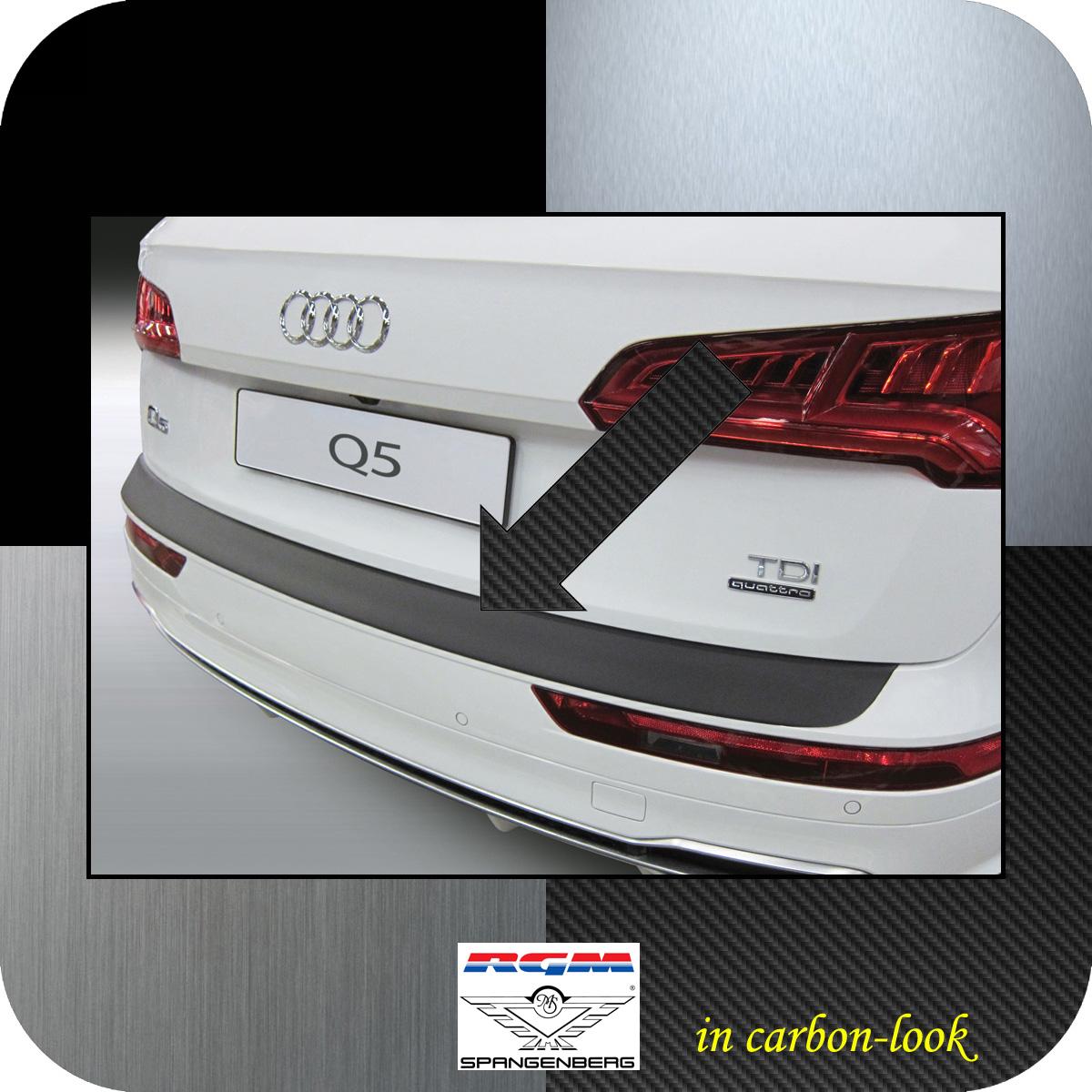 Aroba AR803 Ladekantenschutz kompatibel f/ür Audi Q5 und SQ5 ab BJ 10.2016 Sto/ßstangenschutz passgenau mit Abkantung ABS Farbe schwarz