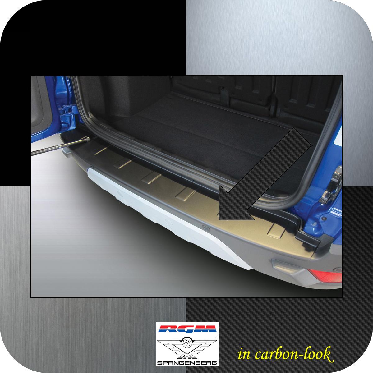 Ladekantenschutz Carbon-Look Ford EcoSport SUV Kombi vor Mopf 2012-17 3509814