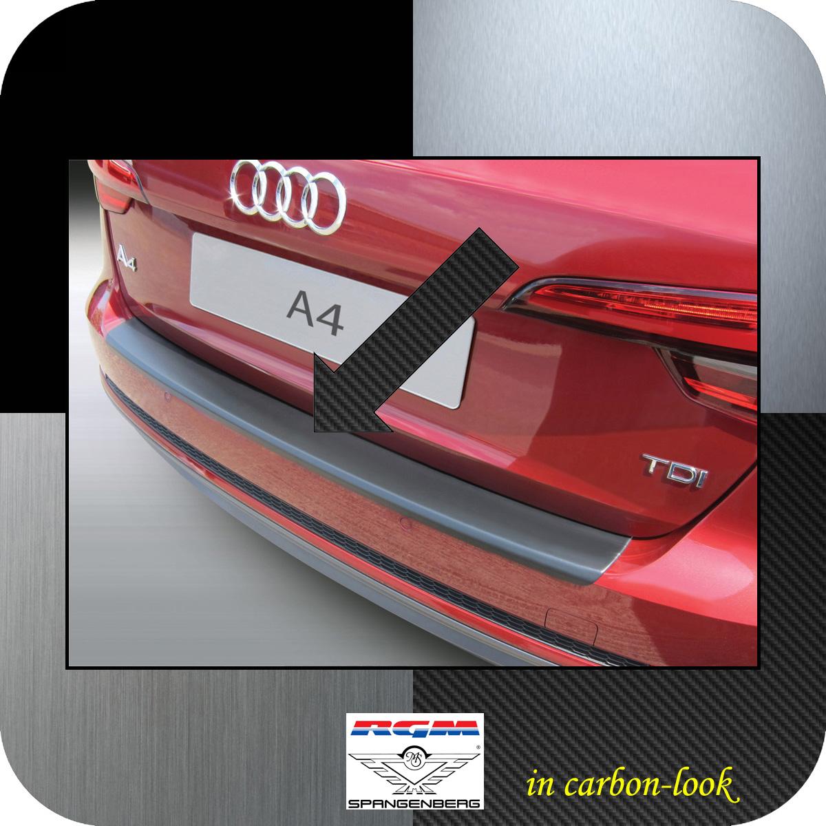 Ladekantenschutz Carbon-Look Audi A4 B9 Avant auch S-Line 5-Türer 2015- 3509894