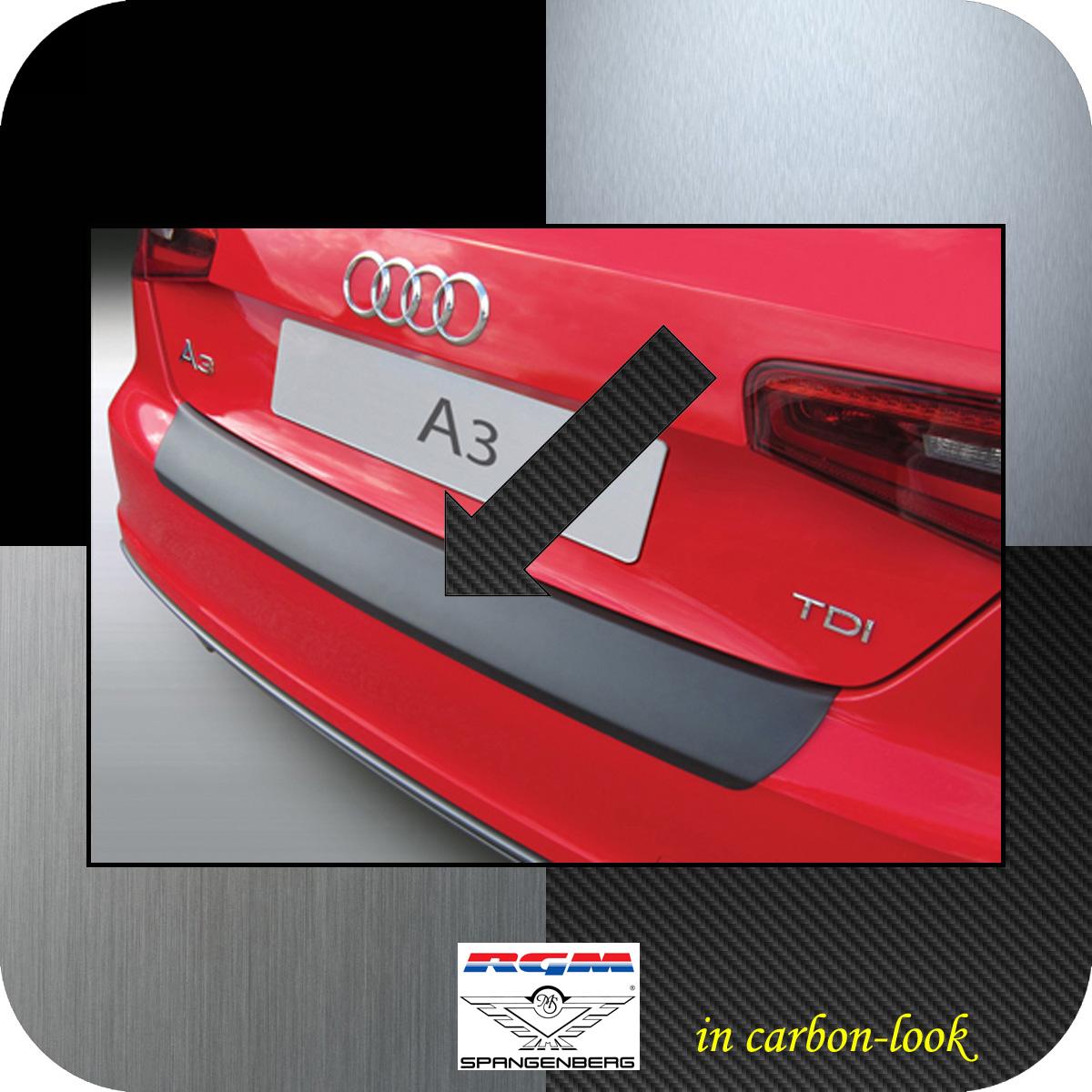 Ladekantenschutz Carbon-Look Audi A3 auch S3 Schrägheck 3-Türer 2012-17 3509899
