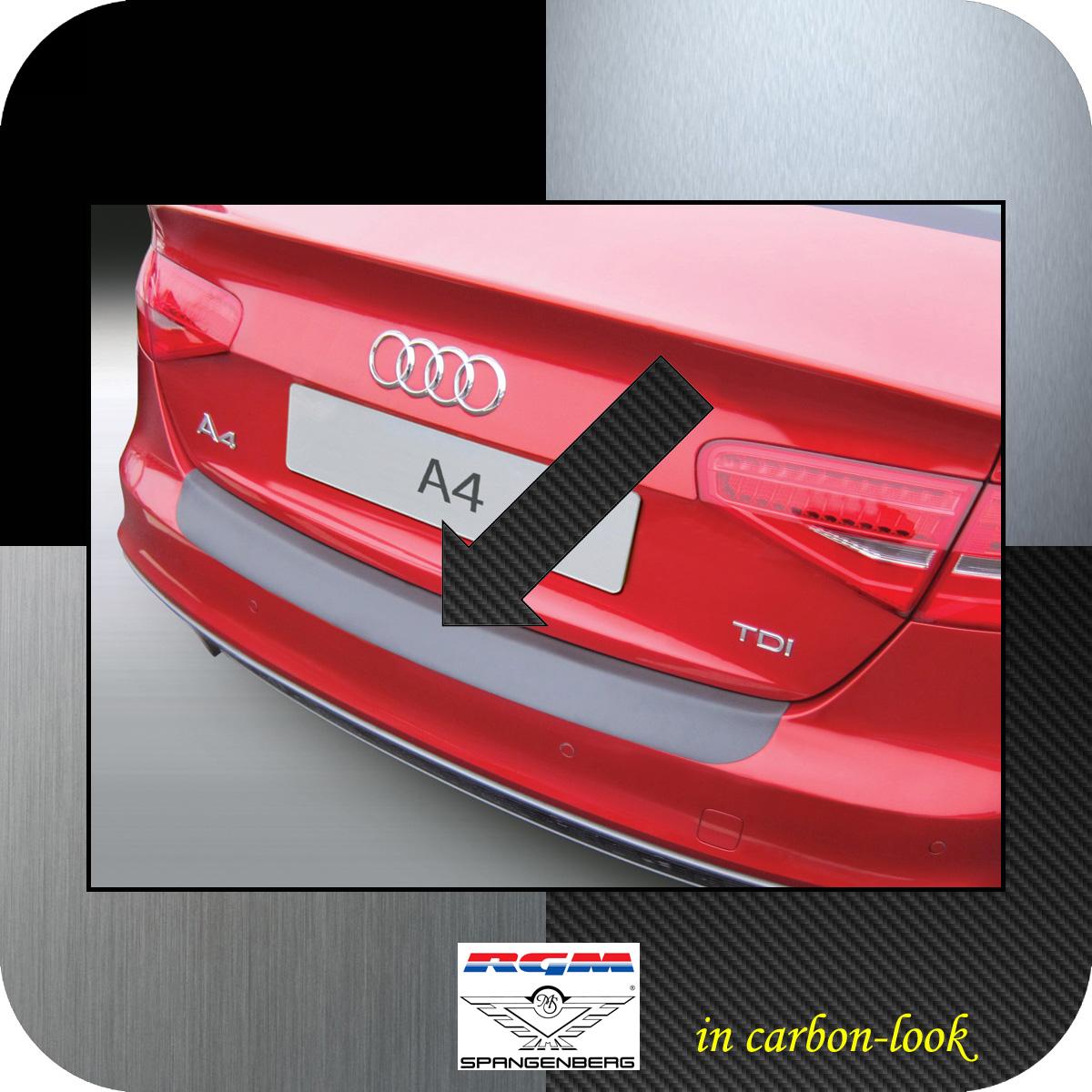 Ladekantenschutz Carbon-Look Audi A4 B8 Limousine facelift 2012-2015 3509905