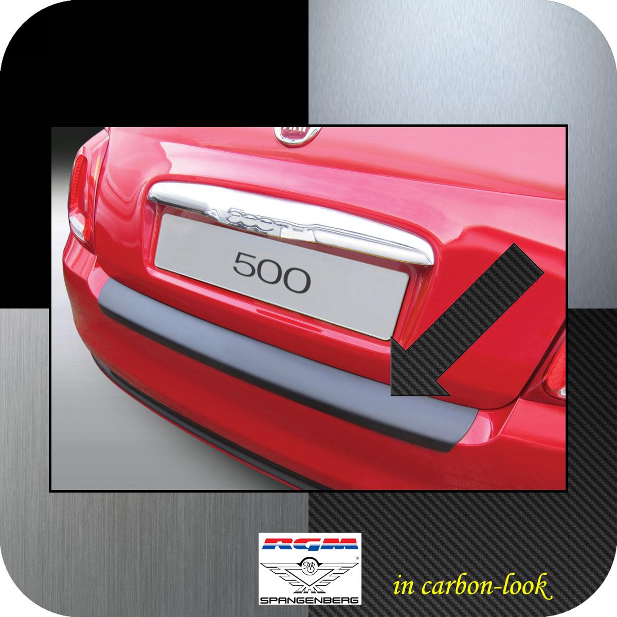 Ladekantenschutz Carbon-Look Fiat 500 ab facelift Baujahr 2015- 3509914