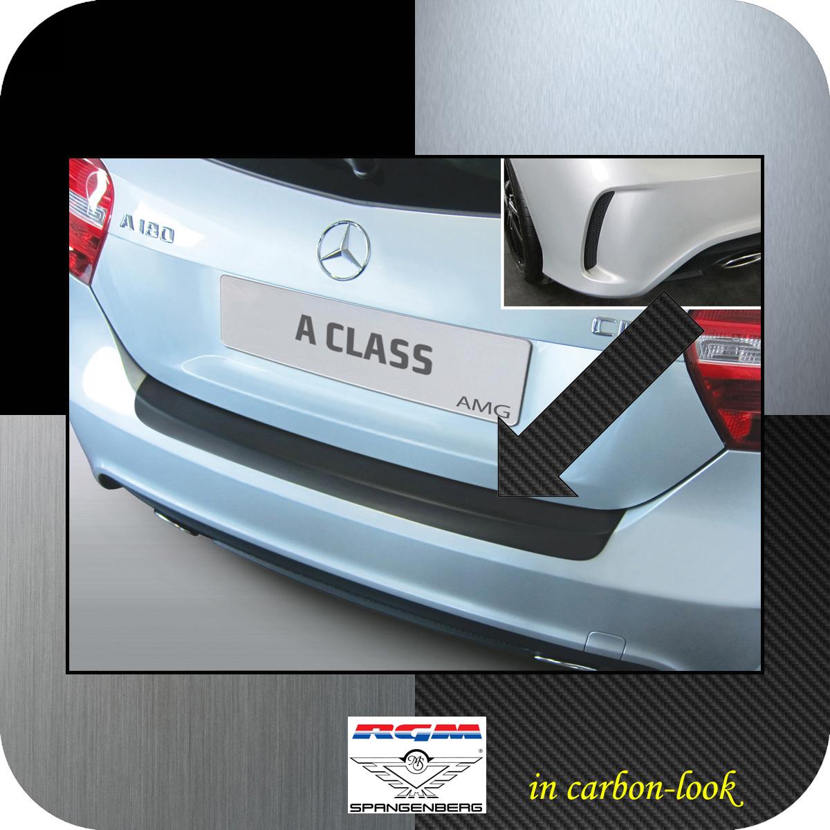 Ladekantenschutz Carbon-look Mercedes A-Klasse W176 2012- 45 AMG und 250 3509951