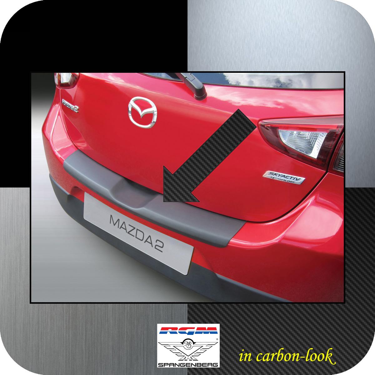 Ladekantenschutz Carbon-Look Mazda 2 DJ Schrägheck 3- & 5-Türer 11.2014- 3509955