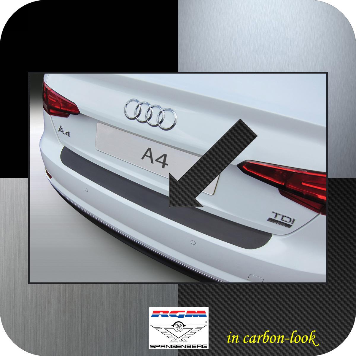 Ladekantenschutz Carbon-Look Audi A4 B9 Limousine 4-Türer ab Bj 2015- 3509960