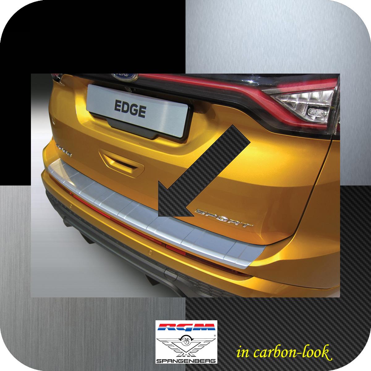 Ladekantenschutz Carbon-Look gerippt Ford Edge II vor facelift 2016-18 3509965