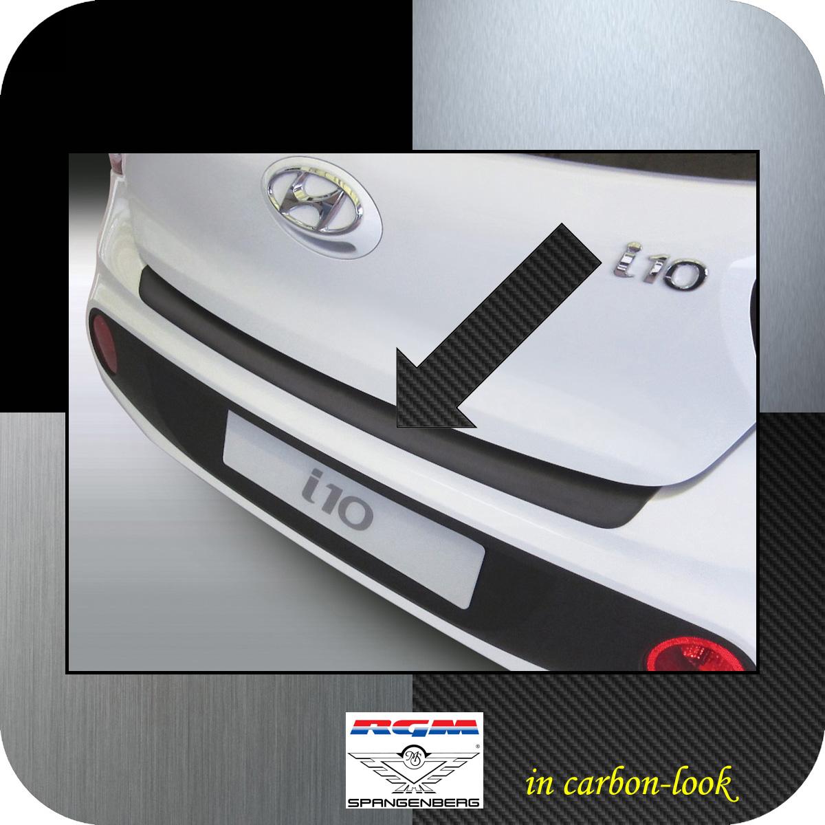 Ladekantenschutz Carbon-Look Hyundai i10 Schrägheck ab Baujahr 2017- 3509972