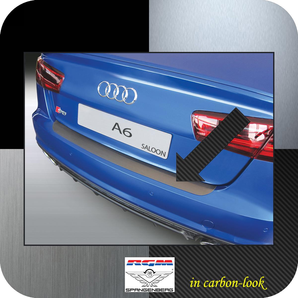 Ladekantenschutz Carbon-Look Audi A6 C7 Limo auch RS S6 ab Mopf 2016-18 3509988