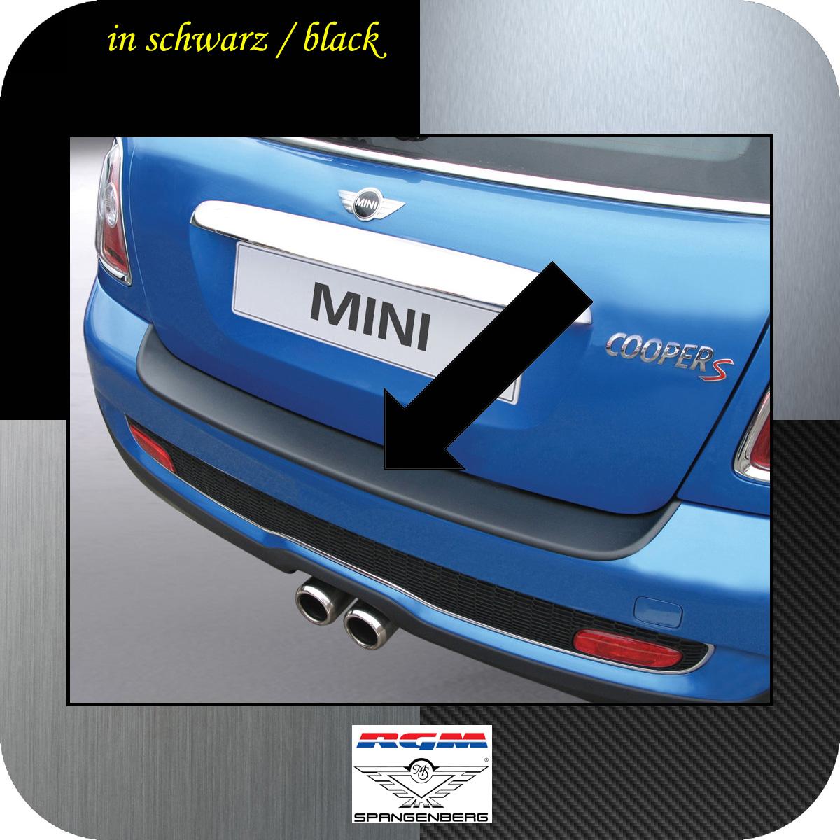 Ladekantenschutz schwarz Mini BMW Coupe Cooper R58 ab Baujahr 2011- 3500102