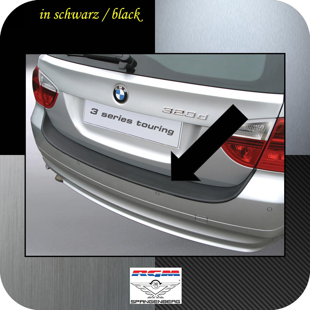 LADEKANTENSCHUTZ Lackschutzfolie für BMW 3er Touring Kombi E91 ab 2005  schwarz