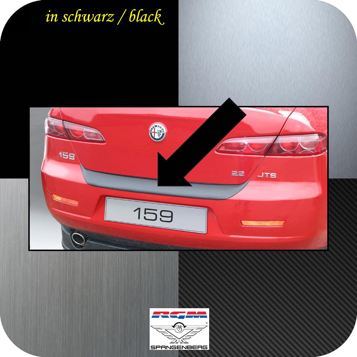 Ladekantenschutz schwarz Alfa Romeo 159 Limousine 4-Türer 2005-11 3500131