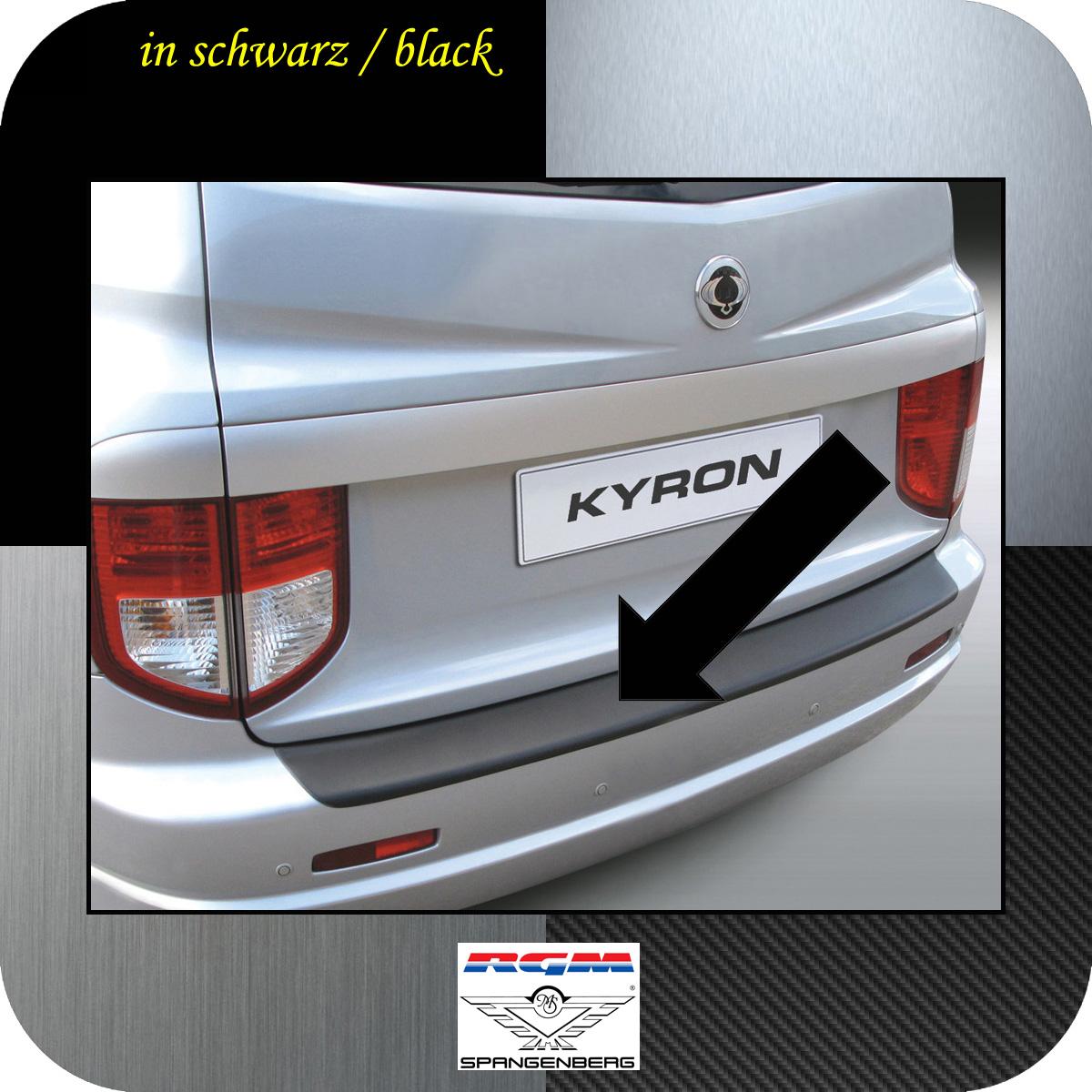 Ladekantenschutz schwarz SsangYong Kyron SUV vor facelift 2005-2007 3500150