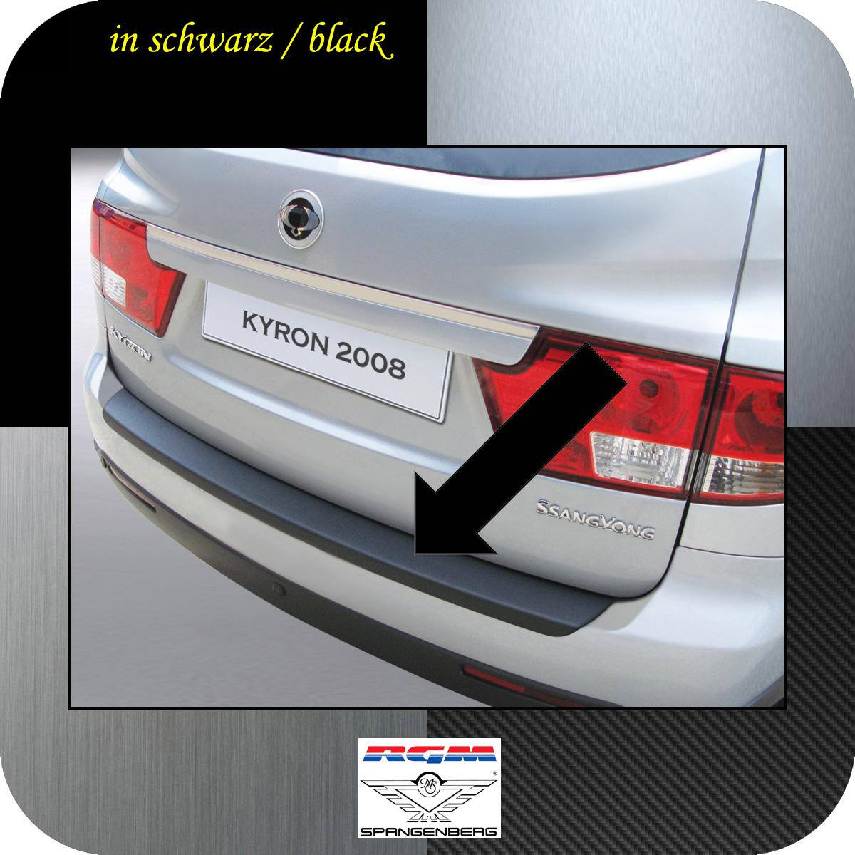 Ladekantenschutz schwarz SsangYong Kyron SUV Kombi facelift 2007- 3500154