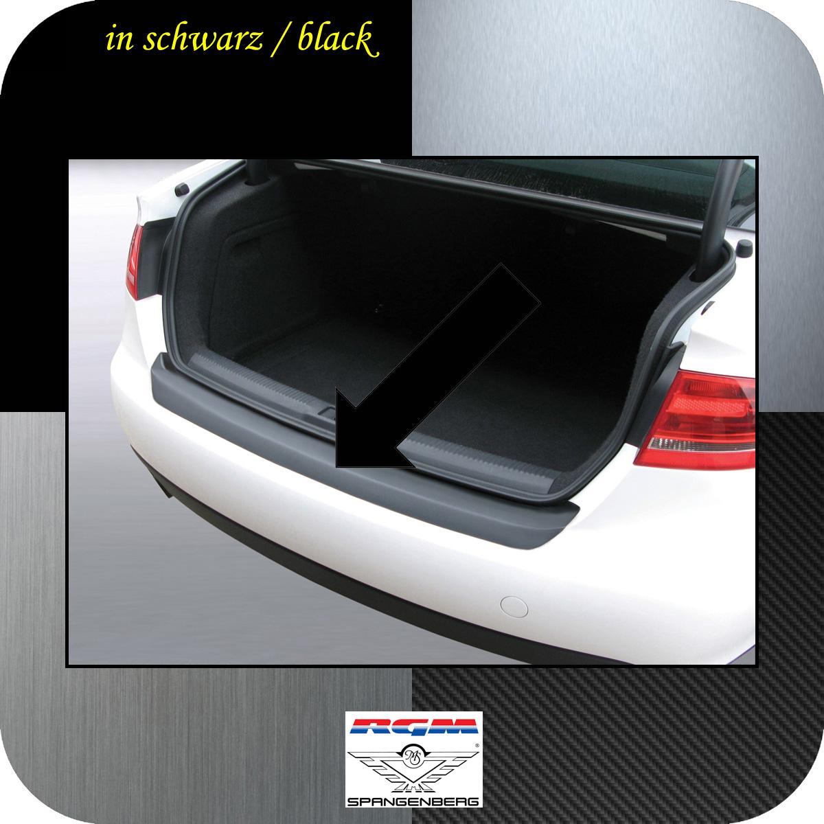 Ladekantenschutz schwarz Audi A4 B8 Limousine vor facelift 2007-11 3500158
