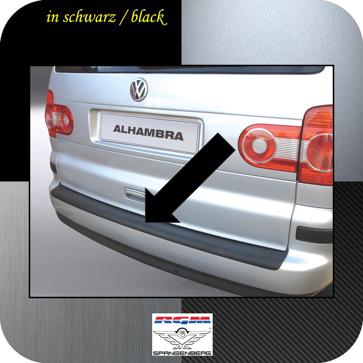 Ladekantenschutz schwarz Seat Alhambra I Van Kombi ab Mopf 2000-10 3500232