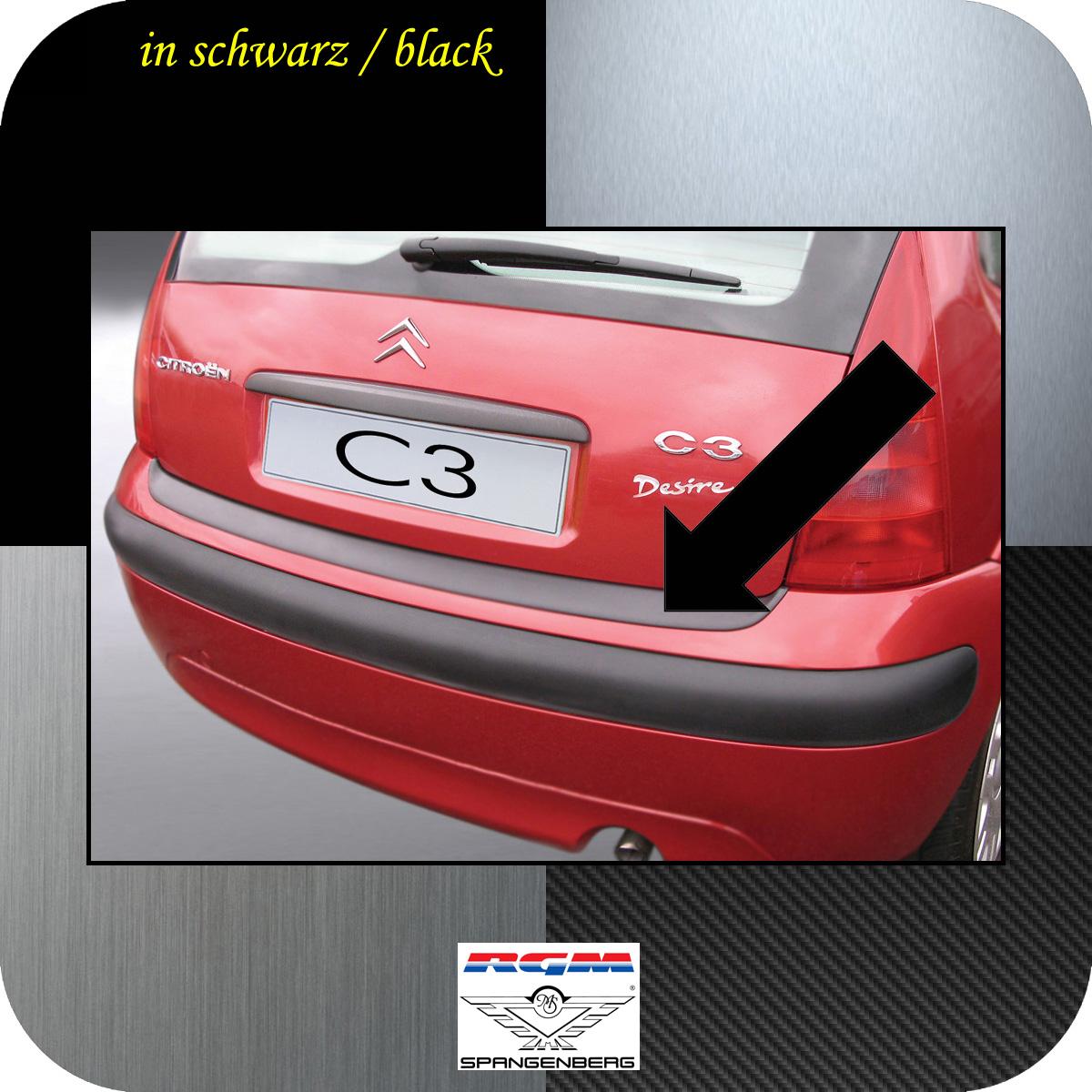 Ladekantenschutz schwarz Citroen C3 I Schrägheck 5-Türer 2002-2009 3500252