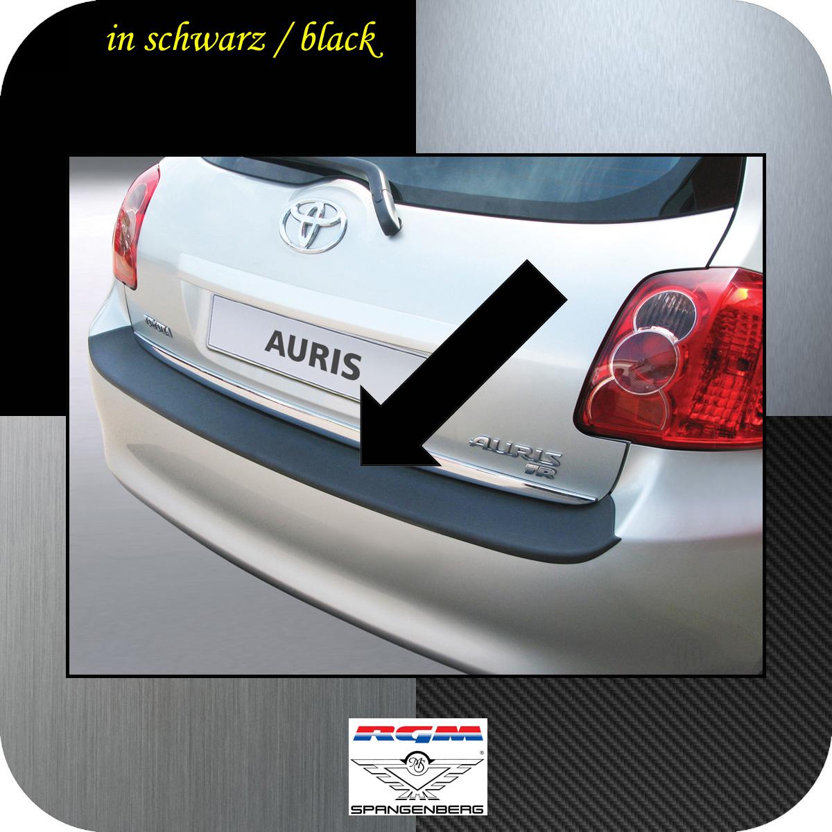 Ladekantenschutz schwarz Toyota Auris I Schrägheck vor Mopf 2006-10 3500264