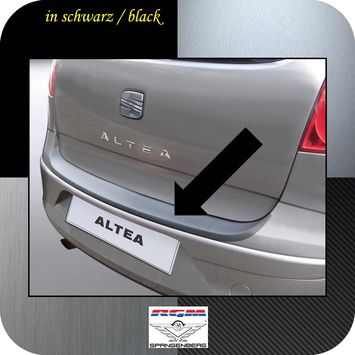 Ladekantenschutz schwarz Seat Altea Van Kombi vor facelift 2004-2009 3500273