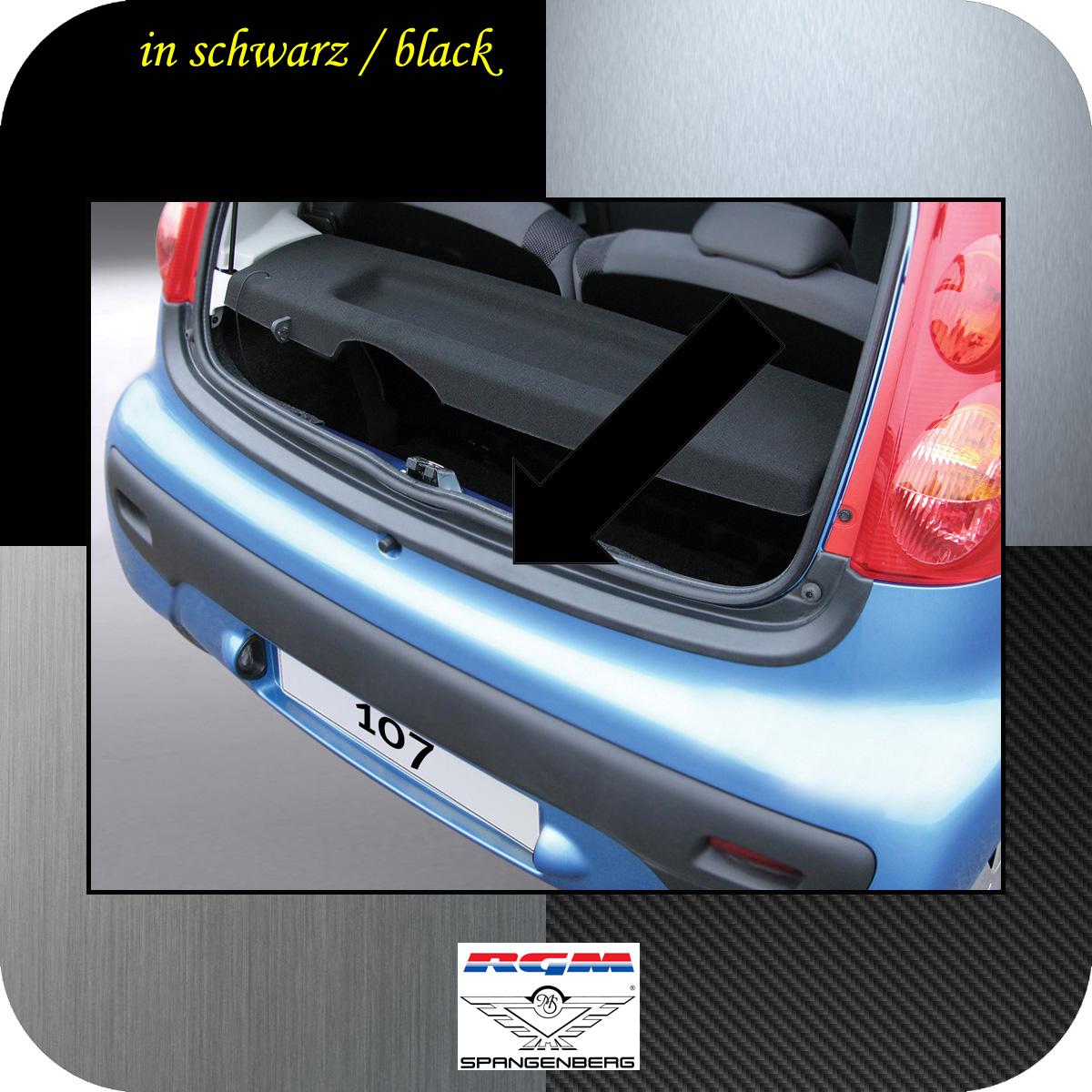 Ladekantenschutz schwarz Peugeot 107 Schrägheck ab Baujahr 2005- 3500290