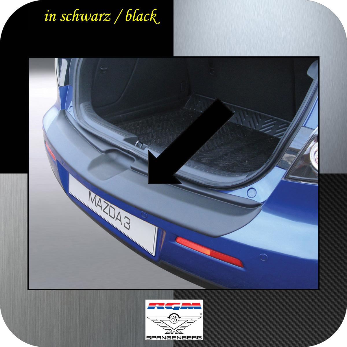 Ladekantenschutz schwarz Mazda3 I Axela Schrägheck ab Mopf 2006-09 3500313