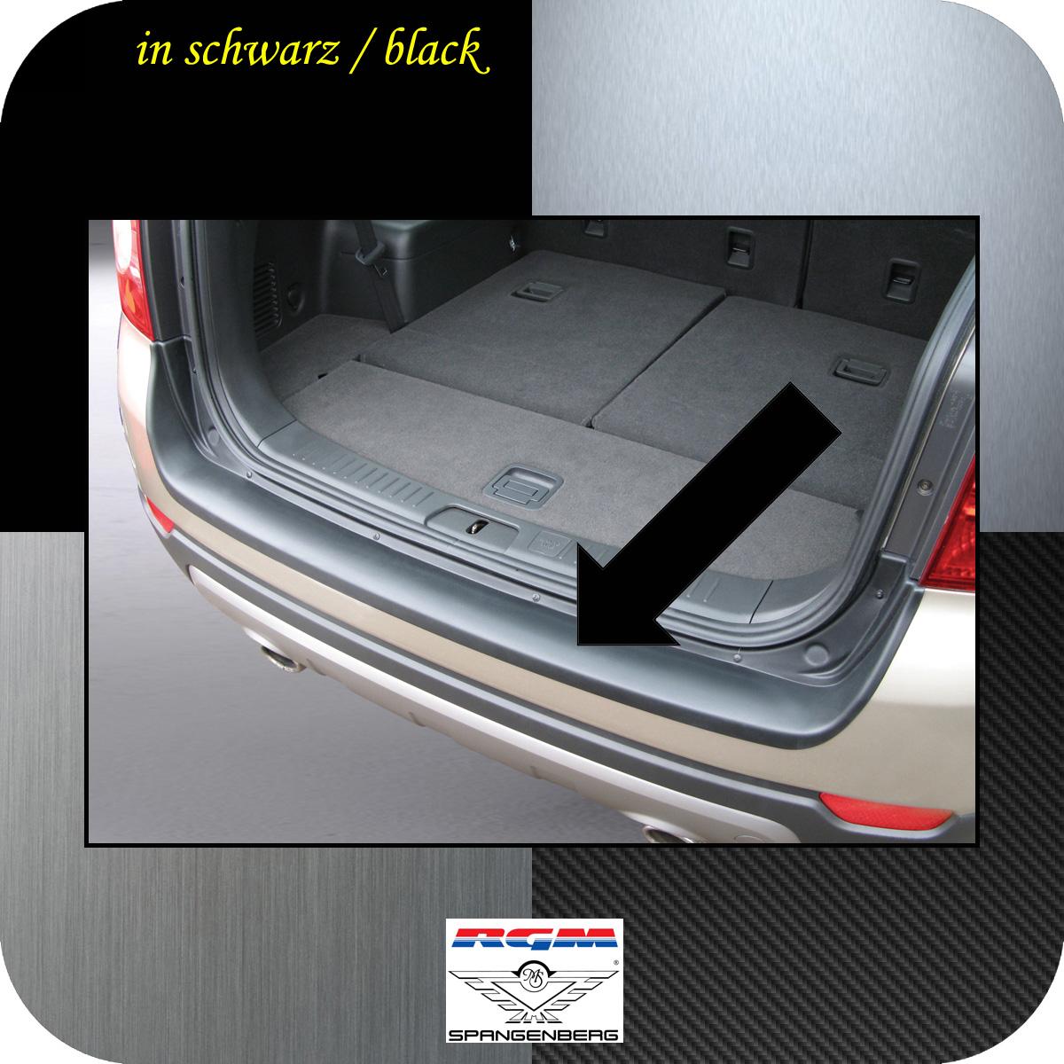 Ladekantenschutz schwarz Chevrolet Captiva SUV 4X4 vor Mopf 2006-13 3500322