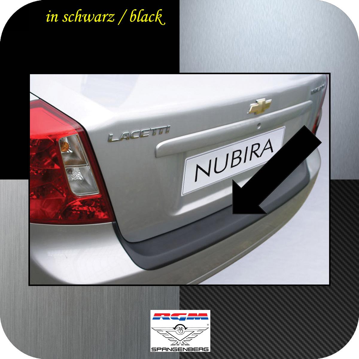 Ladekantenschutz schwarz Chevrolet Lacetti Nubira Limousine ab 2005- 3500324