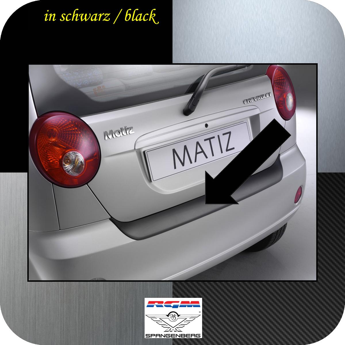 Ladekantenschutz schwarz Chevrolet Matiz Spark Schrägheck bis 2010 3500326