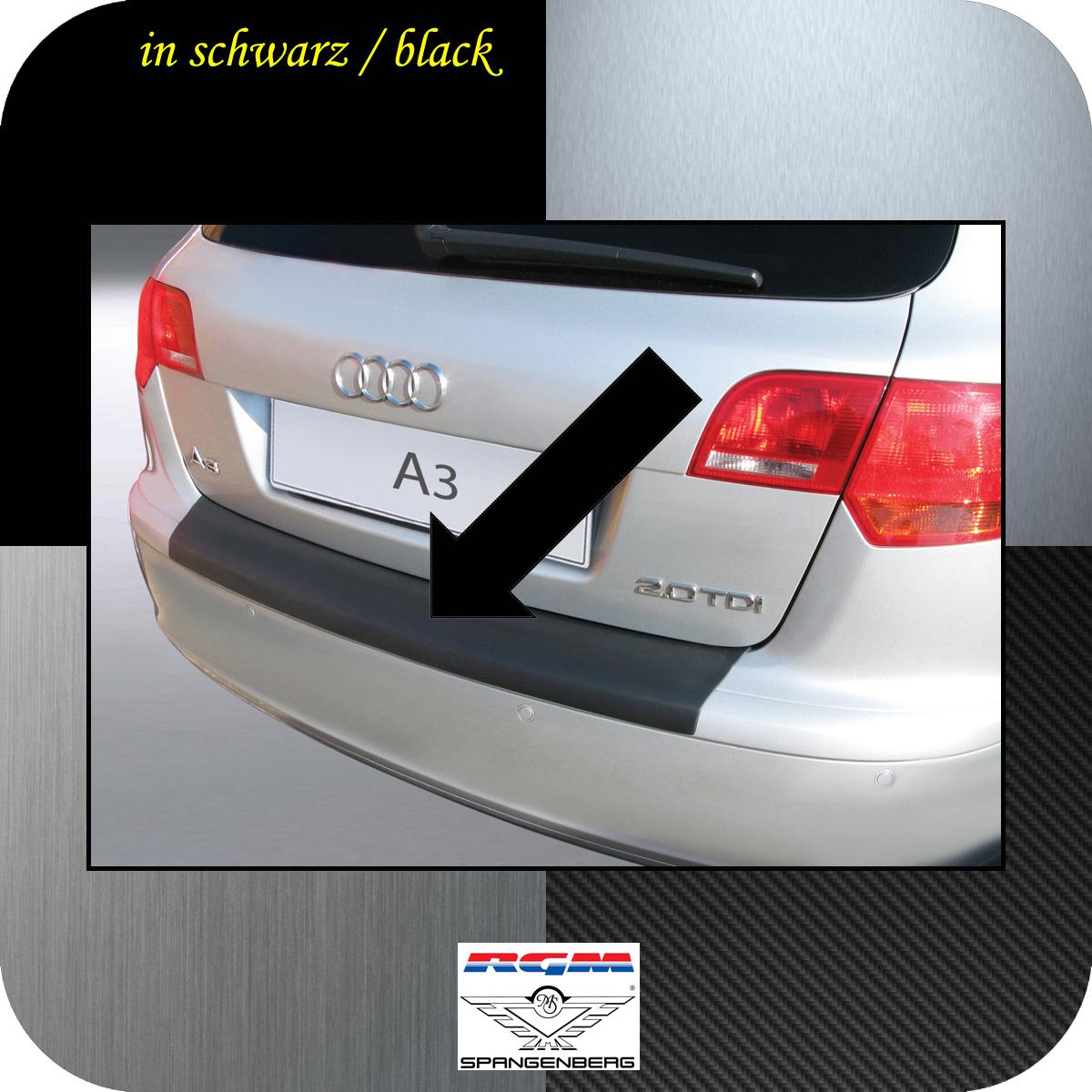 Ladekantenschutz schwarz Audi A3 Sportback vor facelift 2004-2008 3500361