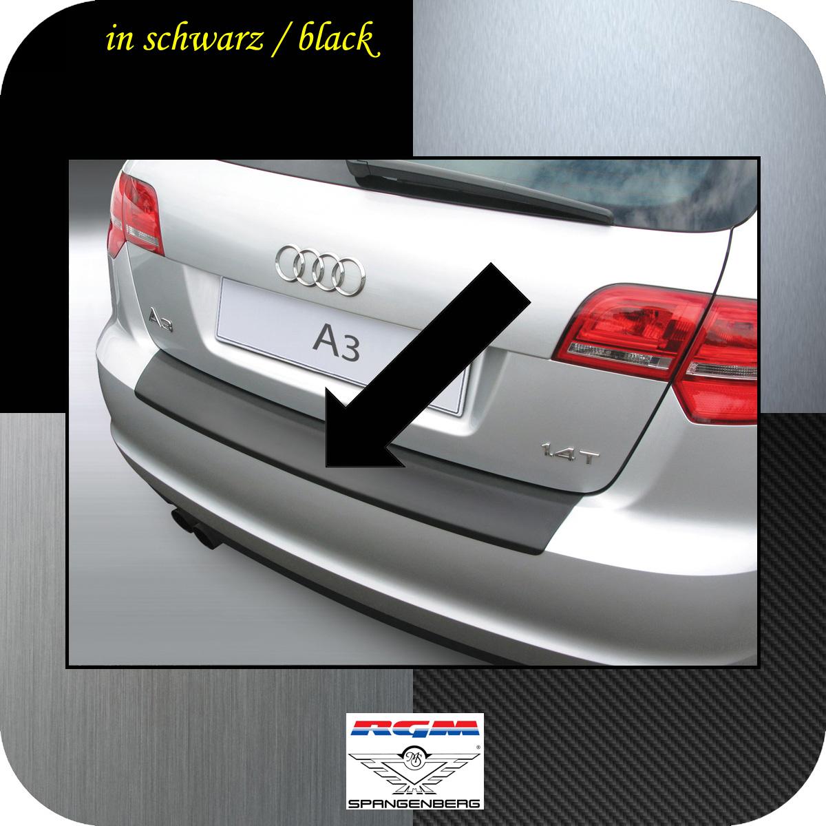Ladekantenschutz schwarz Audi A3 Sportback auch S3 ab Mopf 2008-13 3500362