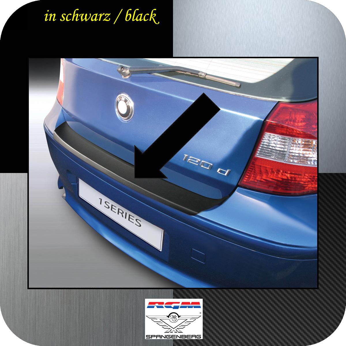 Ladekantenschutz schwarz BMW 1er E81 E87 Schrägheck vor Mopf 2003-07 3500441