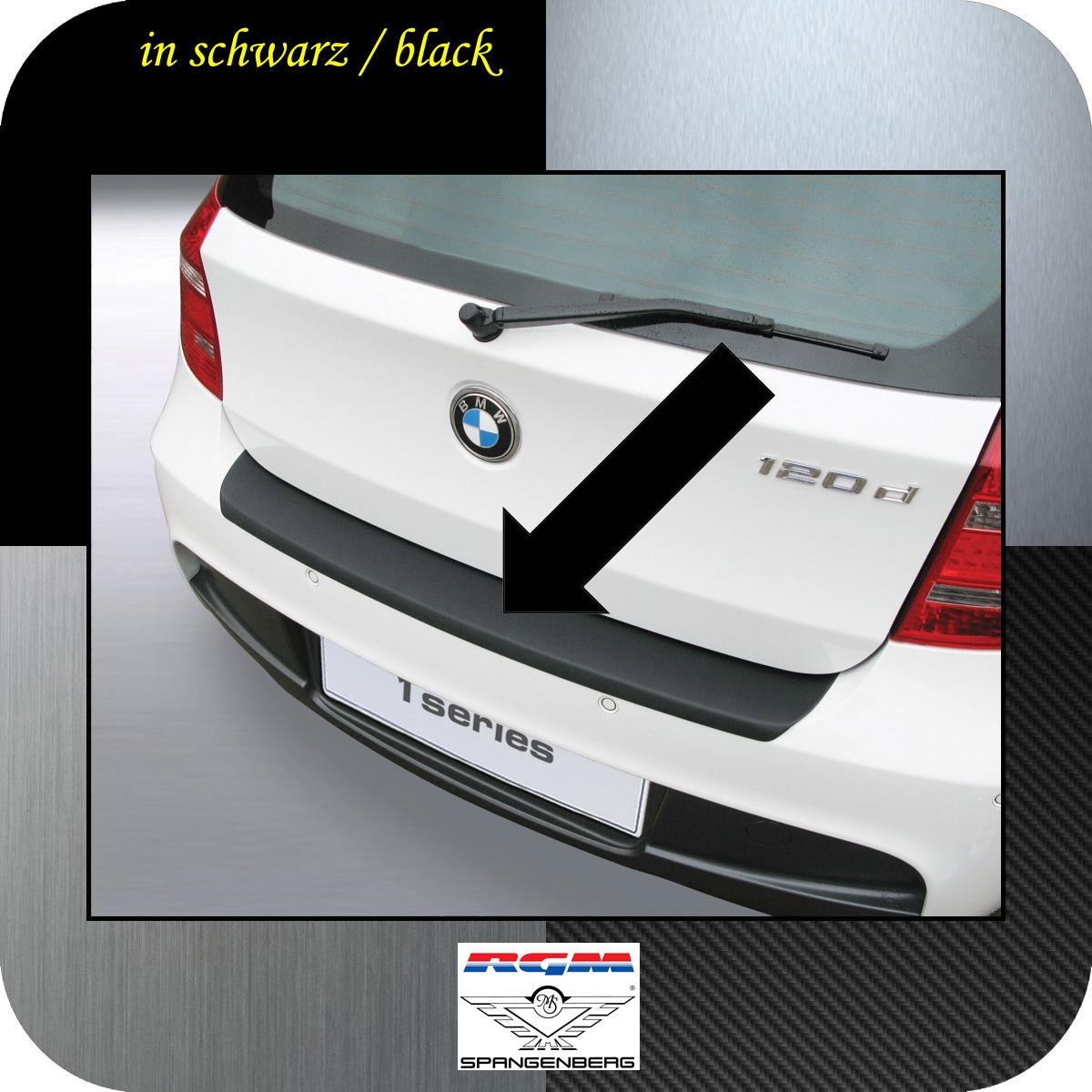 Ladekantenschutz schwarz BMW 1er E81 E87 M-Style ab facelift 2007-12 3500457