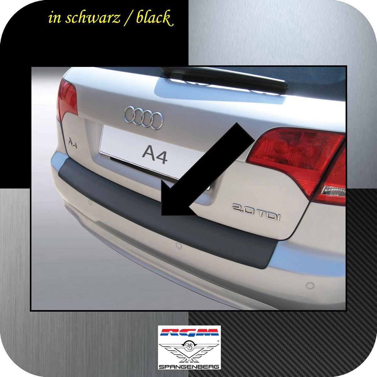 Ladekantenschutz schwarz Audi A4 B7 Avant Kombi auch S-Line 2004-08 3500462