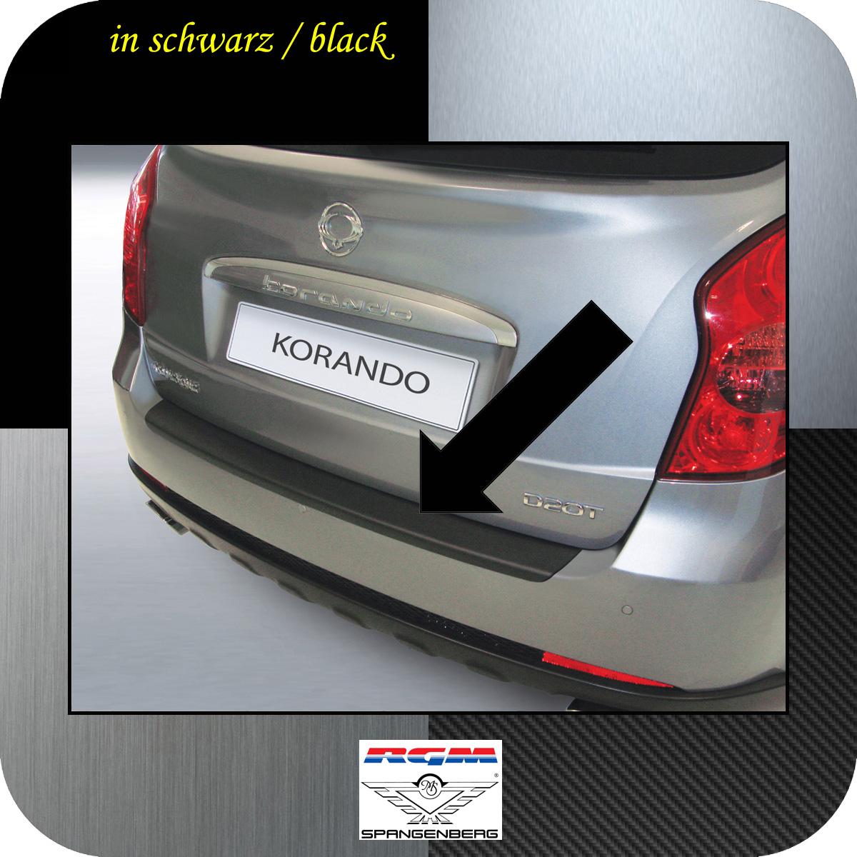 Ladekantenschutz schwarz SsangYong Korando SUV Kombi ab Bauj 2010- 3500489