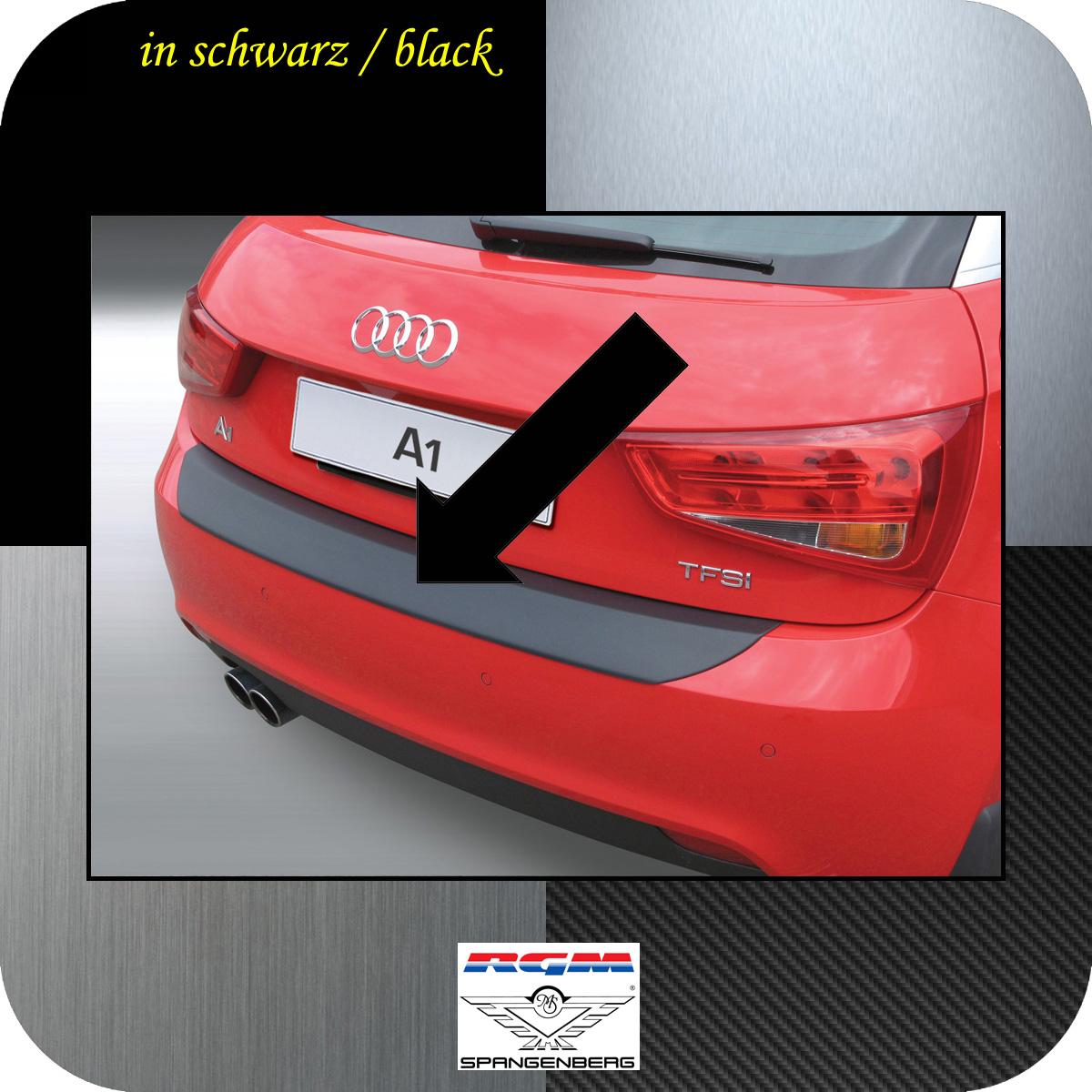 Ladekantenschutz schwarz Audi A1 auch Sportback vor facelift 2010-14 3500513