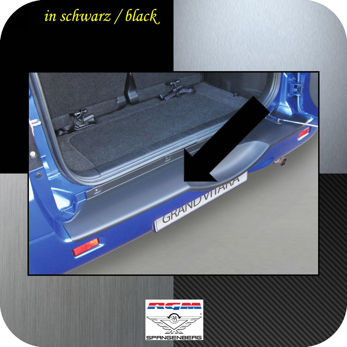 Ladekantenschutz schwarz Suzuki Grand Vitara II Radhalter 2005-2015 3500553