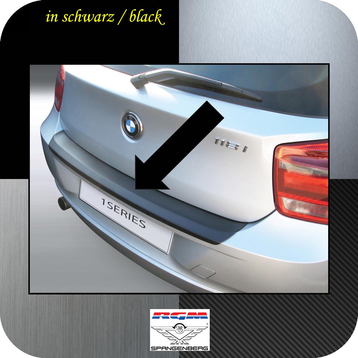 Ladekantenschutz schwarz BMW 1er F21 und F20 vor facelift Bj 2011-15 3500554