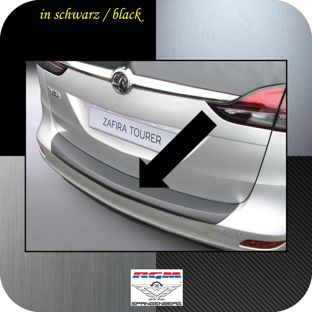 Passgenaue Kofferraummatte Stoßstangenschutz für Opel Zafira Tourer ab 2012