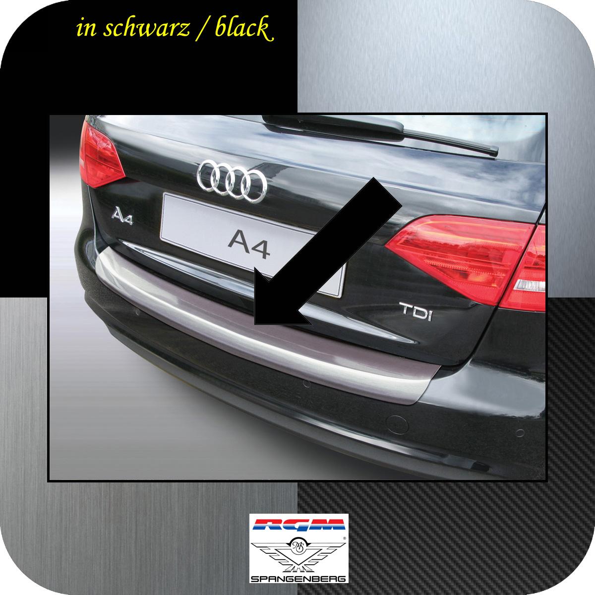 Ladekantenschutz schwarz Audi A4 B8 Avant Mopf 2011-2015 auch S-Line 3500566