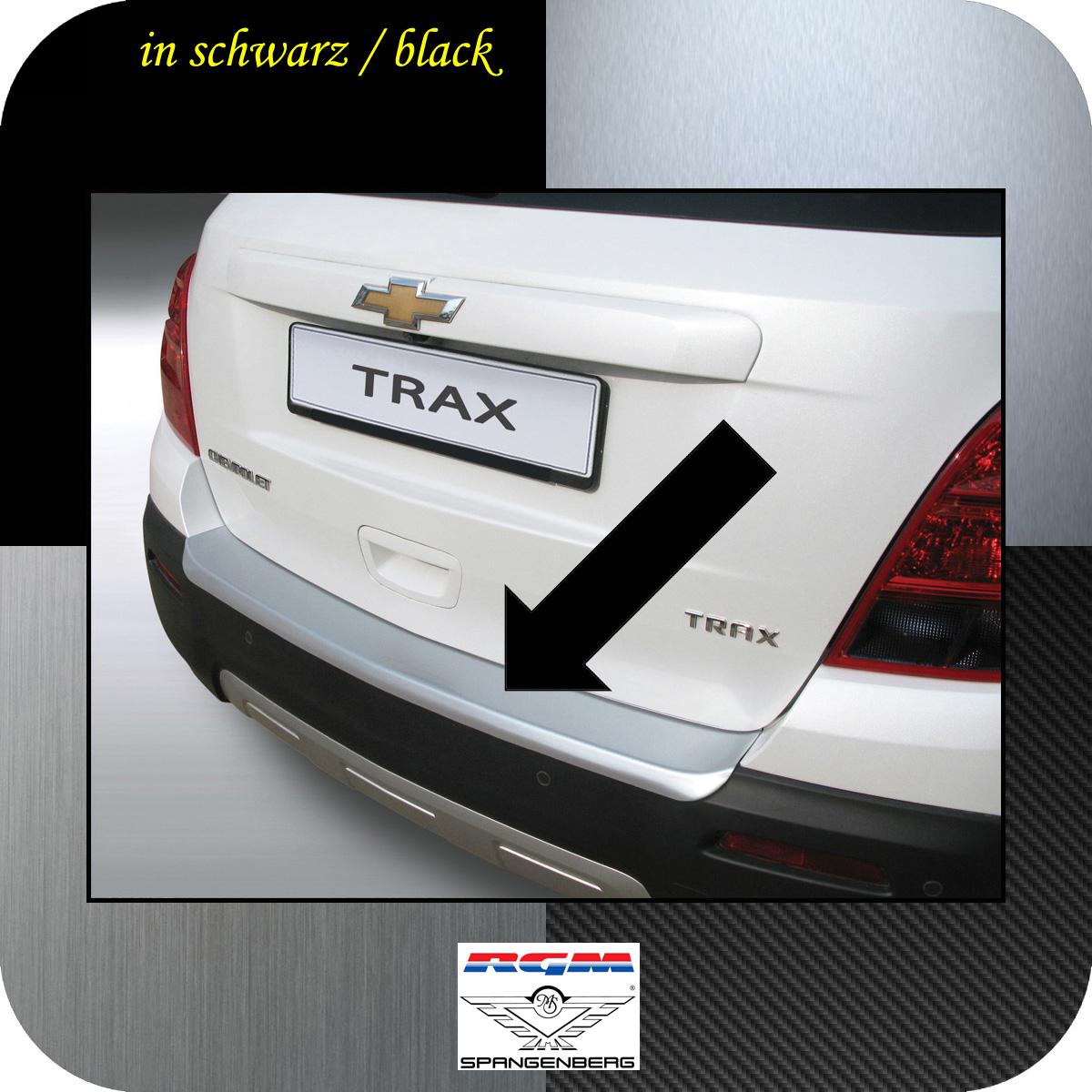 Ladekantenschutz schwarz Chevrolet Trax SUV Kombi ab Baujahr 2013- 3500605