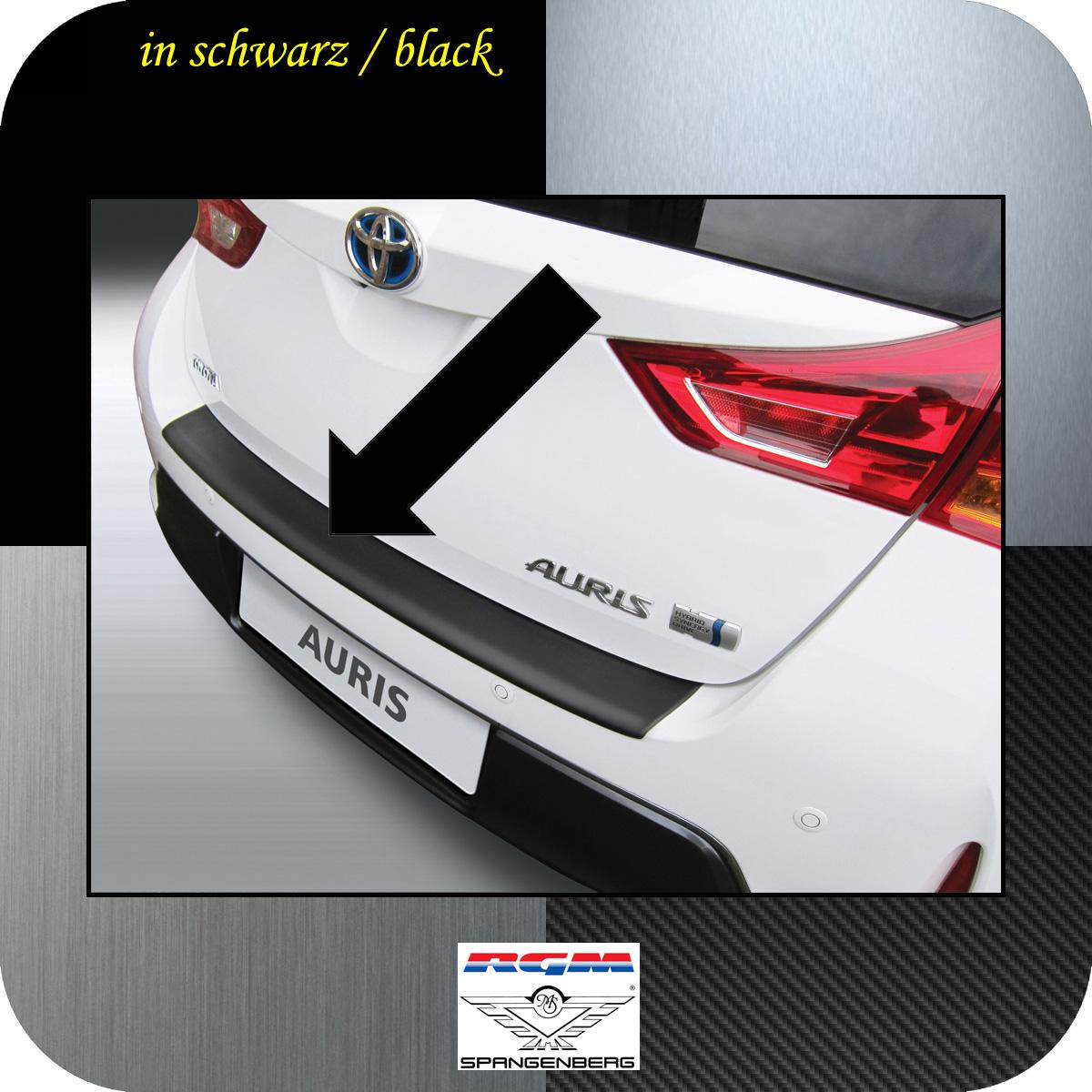 Ladekantenschutz schwarz Toyota Auris II Schrägheck vor Mopf 2012-15 3500620