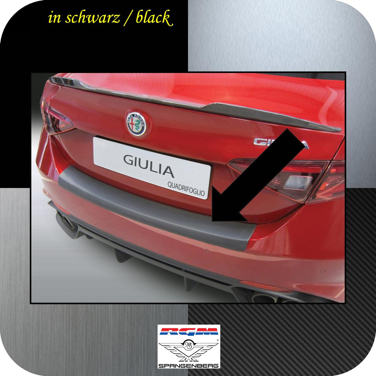 Ladekantenschutz schwarz Alfa Giulia Limo 952 nur Quadrifoglio 05.2016- 3500677