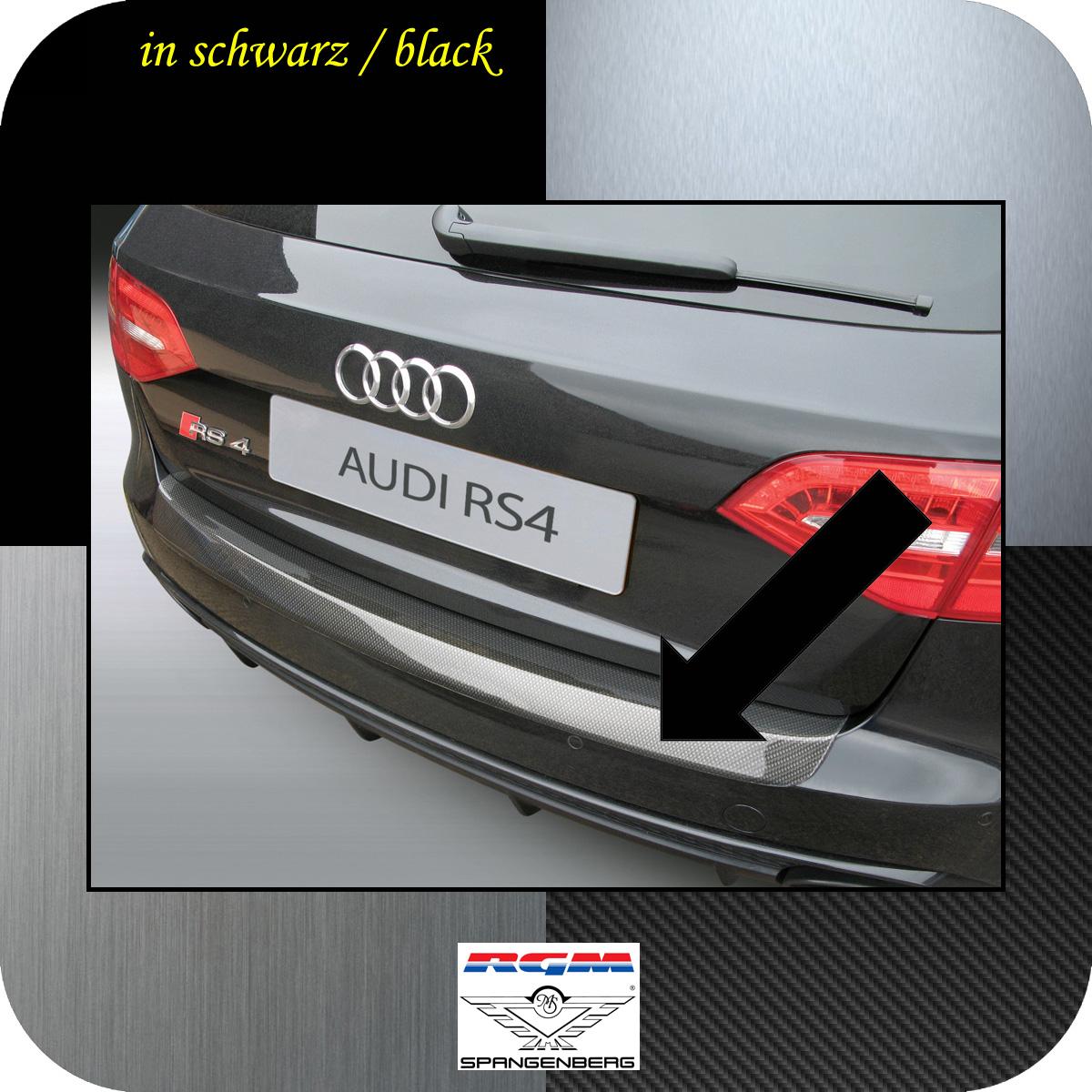 Ladekantenschutz schwarz Audi A4 Avant B8 nur RS4 Quattro 03.12-06.16 3500699