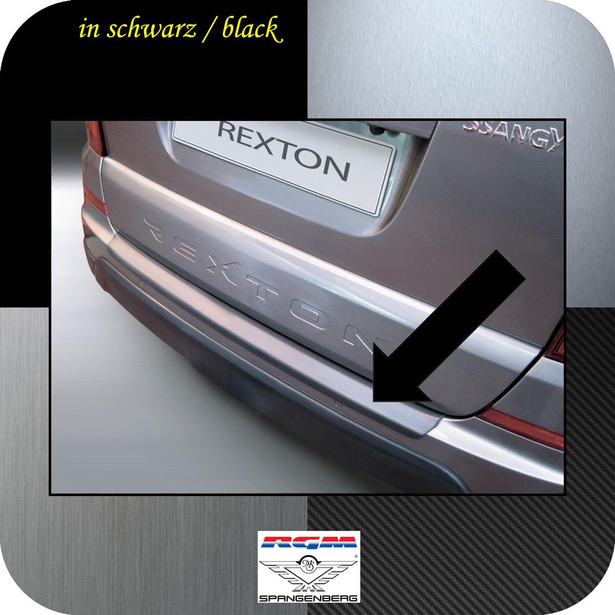 Ladekantenschutz schwarz SsangYong Rexton W ab Baujahr 2013- 3500703