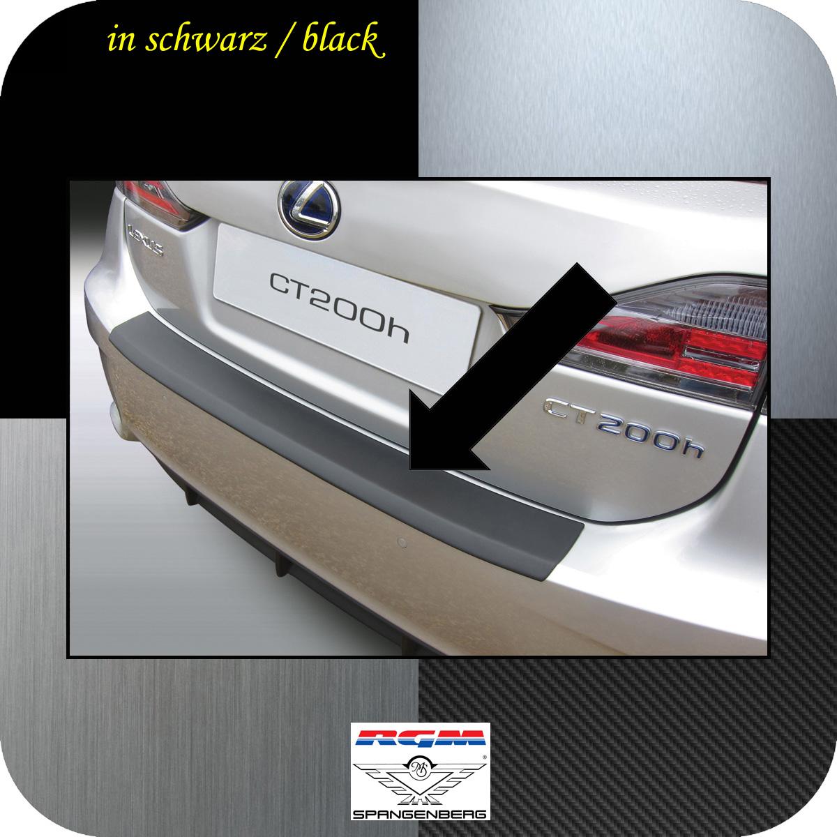 Ladekantenschutz schwarz Lexus CT 200h 5-Türer ab facelift 2014- 3500728
