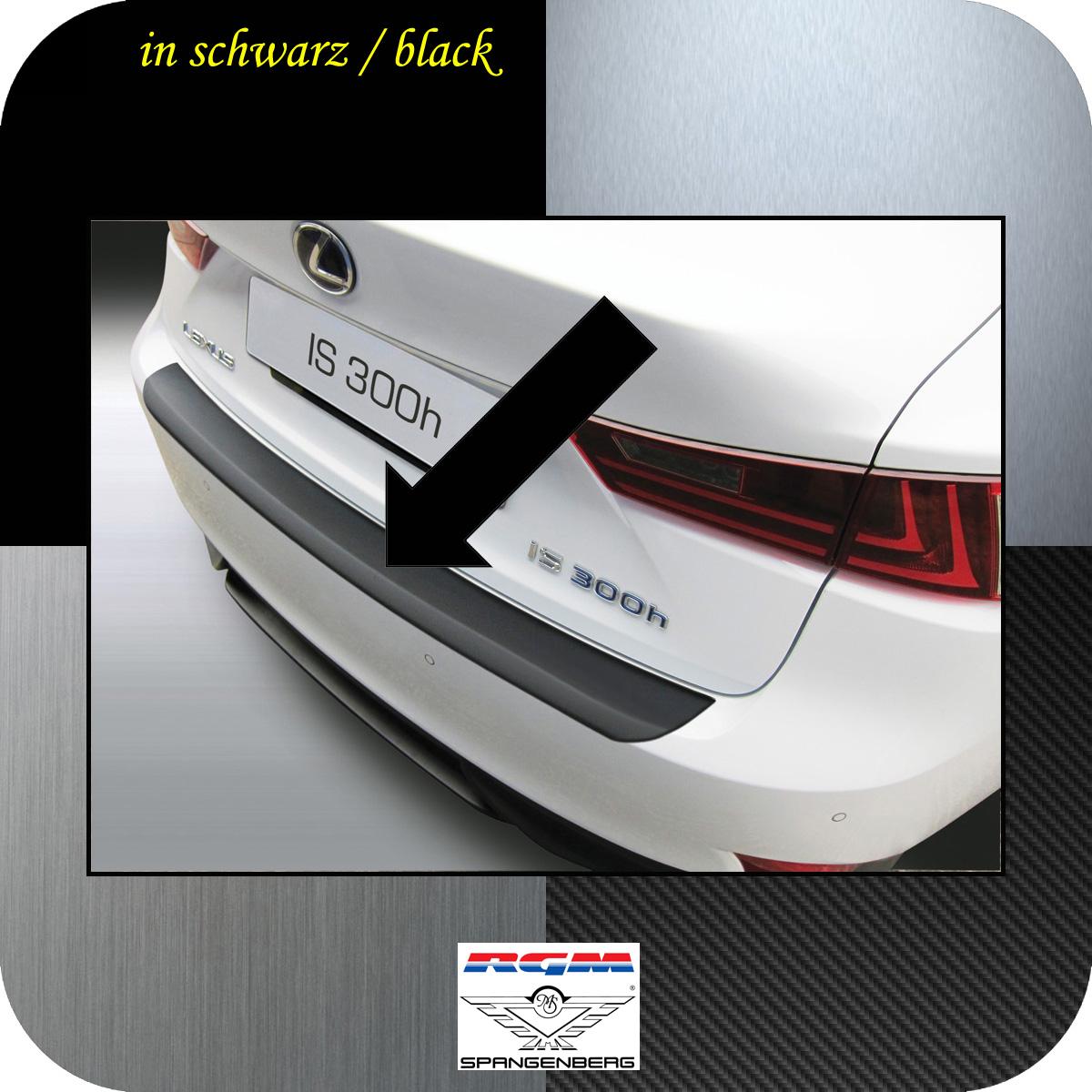 Ladekantenschutz schwarz Lexus IS III Limousine Baujahre 2013-2016 3500729